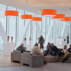 Bauholz Lounge Set Gastronomie